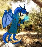 anthro beard captain_zepto captainzepto detailed_background digitigrade dragon druid dungeons_&_dragons facial_hair forest hair horn magic magic_user male mustache nature outside scalie solo spell standing tree tribal_spellcaster wings  Rating: Safe Score: 2 User: CaptainZepto Date: December 07, 2014
