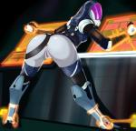 3_fingers alien anus bdsm belt big_butt bondage bound breasts butt female hi_res humanoid mask mass_effect not_furry pussy quarian solo throat_(artist) video_games wide_hips   Rating: Explicit  Score: 19  User: h4x0r  Date: July 14, 2014