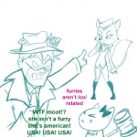 /co/ 4chan anthro banhammer blush bow canine cat digital_drawing_(artwork) digital_media_(artwork) english_text feline female flag fox group hat human lt._fox_vixen male mammal mask moot pointing squirrel_and_hedgehog text united_states_of_america unknown_artist  Rating: Safe Score: 5 User: ROTHY Date: September 24, 2014""