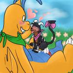 anal anal_penetration bandanna big_dom_small_sub blush bow_tie cum dragonite duo feral happy happy_sex heyitshappydoodles houndoom male male/male nintendo penetration penis pokémon sex size_difference size_play video_games   Rating: Explicit  Score: 9  User: Heyitshappydoodles  Date: December 08, 2014