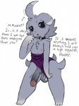 anthro balls clothing collar dialogue espurr flaccid flashing girly male nintendo one-piece_swimsuit penis pokémon presenting roy_mccloud simple_background swimsuit video_games white_backgroundRating: ExplicitScore: 20User: BasedMoogDate: April 03, 2017