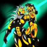 """abs angry arthropod biceps big_breasts blonde_hair blood breasts crying duo female green_eyes hair insect muscles muscular_female pubes pussy saesar size_difference tears teeth violence wasp white_hair  Rating: Explicit Score: 1 User: saesar Date: July 01, 2015"""""""