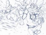 anthro breasts female group human imminent_rape lagomorph lopunny male mammal nintendo pokémon rabbit video_games yawg  Rating: Explicit Score: 5 User: RogueTrader Date: August 23, 2014