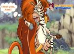 alex_the_lion dreamworks equine erection feline female interspecies lion madagascar male mammal marty_the_zebra penetration penis sex vaginal vaginal_penetration zebra   Rating: Explicit  Score: -3  User: trolll  Date: March 11, 2014
