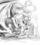 anthro bdsm beaver big_breasts bondage bound breasts cunnilingus dontamure female mammal nipples oral rodent sex skunk tentacles vaginal   Rating: Explicit  Score: 3  User: Swiftkill  Date: March 02, 2014