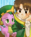 2013 brown_eyes brown_hair cardcaptor_sakura clothed clothing crossover dragon duo friendship_is_magic green_eyes hair hat human lee_syaoran male my_little_pony o-tsuu scalie spike_(mlp) young   Rating: Safe  Score: 2  User: anthroking  Date: April 23, 2013
