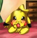 brown_eyes cherry chubby female feral fluffy fur looking_at_viewer mayu_(tartii) nightmare_fuel nintendo pikachu pokémon solo tartii tuft video_games   Rating: Safe  Score: -8  User: LightRain  Date: October 12, 2014