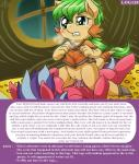 ... anthro biting_lip blue_hair blush bottomless changeling clothed clothing cowgirl_position cub dialogue digital_media_(artwork) dragon duo equine female fur gold_(metal) green_hair hair horse hybrid lying male mammal multicolored_hair my_little_pony nude on_back on_top open_mouth orange_fur patreon penis pony purple_hair pussy pussy_juice red_fur sex tears two_tone_hair vavacung young  Rating: Explicit Score: 13 User: vavacung Date: January 03, 2016