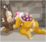 aaron_(artist) absurd_res anal anal_fisting anal_penetration anthro anus chain cum duo fisting hi_res koopa koopalings male male/male mario_bros morton_koopa_jr nintendo orgasm penetration penis roy_koopa scalie video_games   Rating: Explicit  Score: 11  User: playtoomuch  Date: April 04, 2015