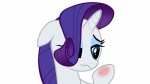 2012 absurd_res blue_eyes cute equine female feral friendship_is_magic frown hair hi_res horn mammal my_little_pony purple_hair rarity_(mlp) sad simple_background skyline19 solo unicorn white_background wounded  Rating: Safe Score: 2 User: Robinebra Date: July 23, 2013