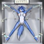 anthro areola bdsm black_nose blue_fur blue_hair bondage bound breasts canine clitoris crying dildo electric_dildo electrical_torture electricity electrodes energy_restraints female forced fox fur hair krystal machine mammal nintendo nipples nude pain penetration prisoner pussy robot_arms sex_toy spread_eagle star_fox sweat tears torture vaginal vaginal_penetration video_games volatus wires  Rating: Explicit Score: 2 User: Aggy Date: July 10, 2015