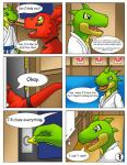 anthro comic comic_sans crocodile digimon guilmon hector21314 imminent_rape karate male reptile scalie text   Rating: Safe  Score: 3  User: hector21314  Date: March 11, 2015