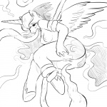 2015 anthro anthrofied butt cutie_mark equine female friendship_is_magic glo-in-the-dark hair horn long_hair mammal my_little_pony nude oral oral_penetration princess_luna_(mlp) pussy restrained solo tentacles tongue winged_unicorn wings  Rating: Explicit Score: 14 User: lemongrab Date: July 02, 2015