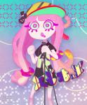 abxy animated blinking blue_eyes clothing female fernhw hair hairclip hat microphone nintendo pink_hair sea_anemone shirt signature singing solo splatoon video_games  Rating: Safe Score: 6 User: ROTHY Date: August 14, 2015