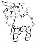 animal_genitalia anus backsack balls blush butt caprine feral goat insomniacovrlrd male mammal monochrome nintendo pokémon presenting presenting_hindquarters simple_background skiddo solo video_gamesRating: ExplicitScore: 2User: slyroonDate: June 27, 2016