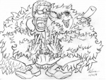 2014 black_and_white crossover donquixote_doflamingo duo equine fan_character feather_boa female feral fluffle_puff horse human irie-mangastudios male mammal monochrome my_little_pony one_piece pencil_(artwork) pony sketch traditional_media_(artwork)  Rating: Safe Score: 3 User: IrieMangaStudios Date: January 02, 2015""