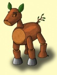 ambiguous_gender equine horse leaves mammal mokujin my_little_pony ponification pony practice_dummy solo suzidragonlady tekken wood  Rating: Safe Score: 1 User: Test-Subject_217601 Date: December 29, 2011