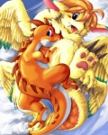 cloud cloudscape doran_(dragon_quest) dragon dragon_quest duo edmol female feral flammie fur furred_dragon male mana_(series) outside scalie secret_of_mana sky sparkie video_games wings  Rating: Questionable Score: 4 User: fh3lc7kh Date: June 08, 2013