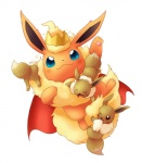 blue_eyes blush brown_eyes brown_fur crown eevee eeveelution eyes_closed flareon fur group haripo_(artist) nintendo one_eye_closed orange_fur pokémon solo_focus video_games young  Rating: Safe Score: 3 User: Goldenbanana1231 Date: October 18, 2015