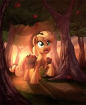 2015 apple applejack_(mlp) blonde_hair bucket cloud collaboration cowboy_hat equine female food forest freckles friendship_is_magic fruit grass green_eyes hair hat horse mammal my_little_pony open_mouth pony signature solo sunrise tongue tree tsitra360 vest_(artist)   Rating: Safe  Score: 6  User: 2DUK  Date: May 19, 2015