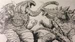 claws dinosaur feral godzilla godzilla_(series) kaiju matt_frank muscular not_furry regeneration roaring saliva smoke spinal_plates teeth toho  Rating: Safe Score: 3 User: PropheticKaiju Date: April 27, 2016