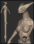 3d anthro breasts cgi claws fangs female grey_background guild_wars guild_wars_2 horn james_vandenbog krait model model_sheet naga official_art plain_background reptile scalie sharp_teeth solo teeth video_games   Rating: Questionable  Score: 2  User: e17en  Date: February 23, 2015