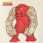 2017 angry anthro anthrofied belly biped english_text featureless_crotch featureless_feet firefightdex fist front_view frown full-length_portrait gastropod goo_creature grey_body hi_res humanoid_hands lava looking_up magcargo male marker_(artwork) mfanjul mineral_fauna mixed_media musclegut muscular muscular_male nintendo no_sclera nude overweight overweight_male pecs pen_(artwork) pokémon pokémon_(species) pokémorph portrait red_body rock shadow simple_background small_pupils solo standing text toony traditional_media_(artwork) two_tone_body video_games white_background yellow_eyesRating: SafeScore: 3User: DiceLovesBeingBlownDate: March 10, 2018