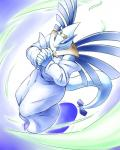 2015 abstract_background anthro avian clothed clothing day-t eyelashes female hi_res leaf legendary_pokémon lugia nintendo pokémon simple_background solo video_games wings  Rating: Safe Score: 7 User: N7 Date: January 30, 2015