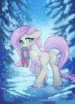 cutie_mark equine feathered_wings feathers female feral fluttershy_(mlp) friendship_is_magic hair hooves imanika long_hair mammal mouth_hold my_little_pony pegasus pink_hair snow solo teal_eyes wings wreathRating: SafeScore: 1User: ultragamer89Date: January 21, 2018