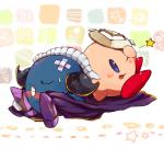 alien blush cape clothing duo gloves kirby kirby_(series) male mask meta_knight nintendo shoulder_pads sitting unknown_artist video_games waddling_head  Rating: Safe Score: 0 User: Cαnε751 Date: December 16, 2015