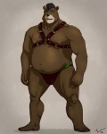 2012 aikho anthro bear belly biceps biped brown_fur clothed clothing fur grizzly_bear hair male mammal manly mohawk musclegut muscular muscular_male nipples open_mouth piercing plantigrade signature simple_background slightly_chubby smile solo standing taoren teeth topless underwearRating: QuestionableScore: 2User: nsfw_burrDate: April 20, 2017
