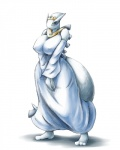 anthro anthrofied barefoot big_breasts breasts crown day-t female legendary_pokémon lugia nintendo nipples pokémon solo video_games wide_hips   Rating: Questionable  Score: 12  User: chdgs  Date: June 16, 2013