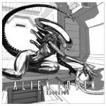 2015 alien alien_(franchise) big_thighs black_and_white border breasts cover cover_page digital_media_(artwork) door english_text female greyscale helmet interior ladder lamp monochrome nude science_fiction small_breasts solo text tubes white_border wide_hips xenomorph zaggatar  Rating: Questionable Score: 32 User: BrainFullOfShit Date: December 28, 2015