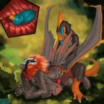 anal anal_vore anthro avian bird cock_vore eyrich gastropod male male/male muriat penis pterosaur reptile scalie slug tojo_the_thief_(character) vore vulture whatRating: ExplicitScore: 8User: TheSgtDate: August 12, 2016