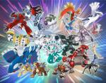 dialga entei groudon ho-oh kyogre latias latios legendary_pokémon lugia nintendo official_art palkia pokémon pokémon_(species) raikou regigigas reshiram shiny_pokémon suicune thundurus tornadus video_games wings xerneas yveltal zekrom zygarde