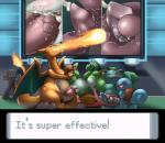charizard close-up cum cum_in_pussy cum_inside cumshot ejaculation female fireball forced foursome group group_sex ivysaur licking long_tongue male male/female mario_bros nintendo oral orgasm penetration penis penis_lick pokémon precum public sex size_difference slimefur squirtle tight_fit tongue tongue_out tonguejob vaginal vaginal_penetration video_games yoshi