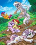 2015 apple_bloom_(mlp) cub diamond_tiara_(mlp) earth_pony equine eyewear female feral fight friendship_is_magic glasses group horn horse karol_pawlinski mammal mud my_little_pony pegasus pony scootaloo_(mlp) silver_spoon_(mlp) sweetie_belle_(mlp) tiara unicorn wings young   Rating: Safe  Score: 6  User: Robinebra  Date: May 05, 2015