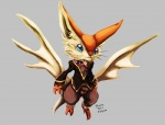 big_ears blue_eyes claws clothing cute male nintendo pokémon solo stranillafennebi victini video_games whiskers   Rating: Safe  Score: 2  User: UNBERIEVABRE!  Date: June 23, 2014