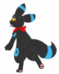 3_toes back bargglesnatch-x1 blush butt condom eeveelution feral fluff fur looking_at_viewer male mammal nintendo plain_background pokémon rear_view scarf shiny_pokémon solo toes umbreon video_games   Rating: Questionable  Score: 3  User: Bargglesnatch-X1  Date: July 26, 2014