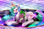2015 bath blush bylisboa dragon duo equine female feral friendship_is_magic grope horn horse male mammal my_little_pony princess_celestia_(mlp) scalie semi_incest smile spike_(mlp) water winged_unicorn wings  Rating: Questionable Score: 8 User: Robinebra Date: January 27, 2015