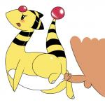 2014 ampharos balls bestiality blush butt duo erection female feral human human_on_feral interspecies looking_at_viewer male male/female mammal nintendo nude open_mouth penis pokémon poképhilia pussy sex simple_background solo_focus video_games white_background ɯ(_–_–_)ɯ  Rating: Explicit Score: 19 User: N7 Date: December 21, 2014