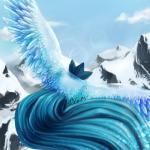 ambiguous_gender articuno avian bird blue_feathers cloud day feathered_crest feathers legendary_pokémon mountain nintendo outside pokémon sky snow solo video_games vomitmonster wings  Rating: Safe Score: 5 User: slyroon Date: December 06, 2014