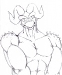 dragmon dragon male monochrome muscles pecs scalie   Rating: Safe  Score: 1  User: Dragmon  Date: March 01, 2013