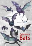 ambiguous_gender crobat dragon fangs feral fur golbat group hi_res mammal membranous_wings nintendo noibat noivern open_mouth orange_eyes pokémon pokémon_(species) realistic red_eyes swoobat teeth video_games wings woobat yaj_leaf zubat