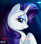 2013 blue_eyes cute equine female feral friendship_is_magic hair horn looking_at_viewer mammal my_little_pony purple_hair rarity_(mlp) skyline19 smile solo unicorn  Rating: Safe Score: 10 User: Robinebra Date: July 22, 2013