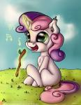 2015 cute equine female feral friendship_is_magic fur green_eyes hair horn magic mammal multicolored_hair musical_note my_little_pony neko-me pink_hair purple_hair singing solo stick sweetie_belle_(mlp) telekinesis two_tone_hair unicorn white_fur young  Rating: Safe Score: 7 User: ultragamer89 Date: January 28, 2015