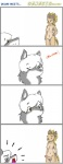 anthro breasts canine canisfidelis comic dickgirl female fur genesis_(kabier) humor intersex male mammal multicolored_fur okami_wolf surprise two_tone_fur what wolf  Rating: Explicit Score: 9 User: CanisFidelis Date: January 16, 2015
