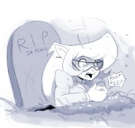 business_suit callie_briggs cat clothing dogyd english_text eyewear feline female glasses gravestone mammal monochrome necktie open_mouth solo swat_kats text tongue  Rating: Safe Score: 9 User: Nuji Date: September 12, 2015