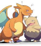 2015 ambiguous_gender blush censored charizard cum dragon drooling drowzee duo erection hypnosis male mammal mind_control nintendo open_mouth penis plain_background pokémon saliva scalie sharp_teeth sweat teeth tongue video_games white_monkey wings   Rating: Explicit  Score: 7  User: AngelTF  Date: January 13, 2015