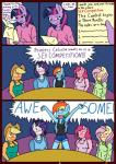 anthro applejack_(mlp) blush clothed clothing comic english_text equine female fluttershy_(mlp) friendship_is_magic group hair hi_res horn horse linedraweer lyndor mammal multicolored_hair my_little_pony open_mouth pegasus pinkie_pie_(mlp) pony rainbow_dash_(mlp) rarity_(mlp) speech_bubble teeth text tongue twilight_sparkle_(mlp) unicorn wings  Rating: Safe Score: 9 User: JGG3 Date: April 17, 2016
